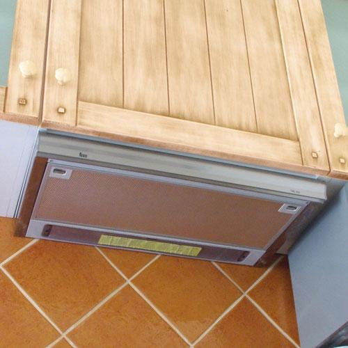 Carpinter a tenerife cocinas lacadas o rusticas - Extractor de cocina de pared ...