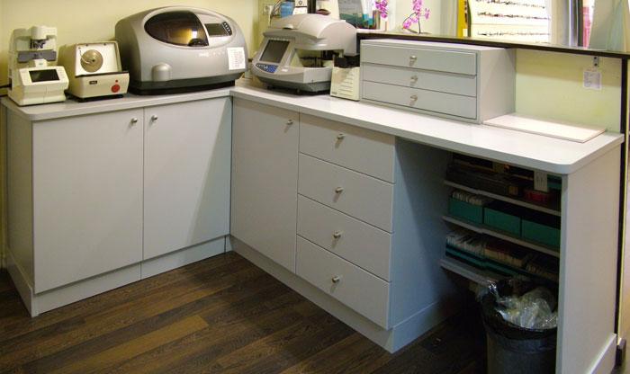 muebles para tienda dm lacado beige mueble de baño para