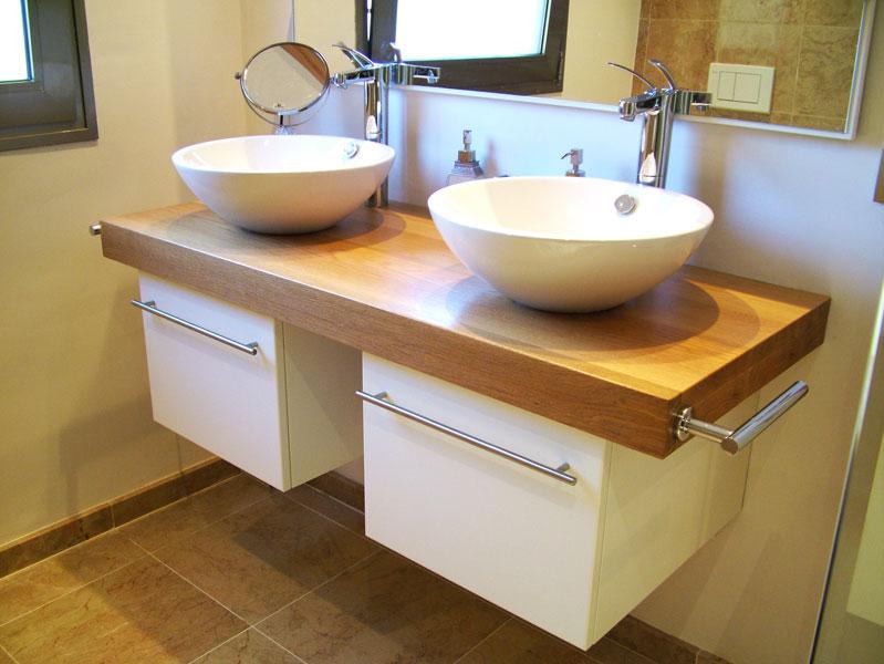 Carpinter a tenerife muebles cocinas armarios - Mueble de bano madera ...