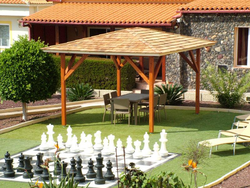 Carpinter a tenerife techos y exteriores de madera for Techos de teja para terrazas