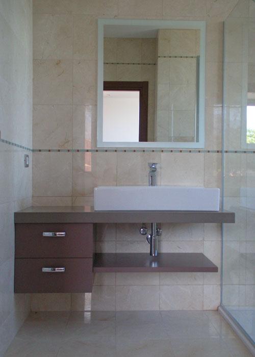 Muebles De Baño Tenerife: mueble de baño dm lacado blanco brillo mueble de baño dm lacado