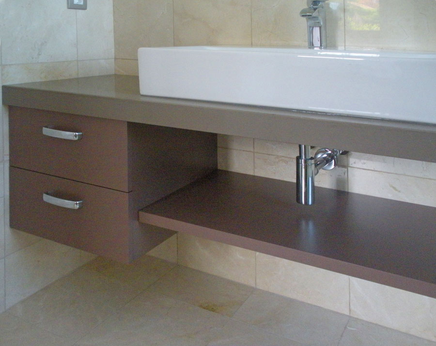 Muebles De Baño Tenerife mueble de baño dm lacado blanco brillo